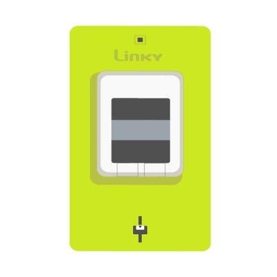 illustration compteur communicant électrique dit intelligent dénommé LINKY